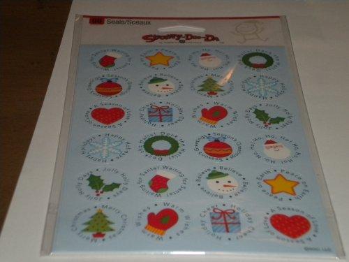 Christmas Seals/stickers Stickety Doo Da