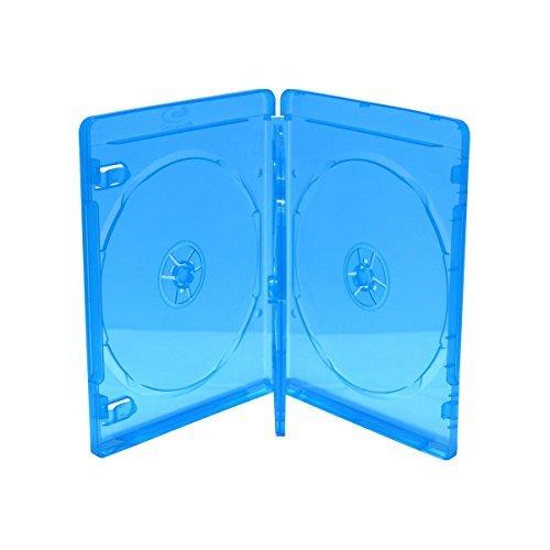 5 BluRay 3er BD Hüllen / 14mm / geeignet für 3 Datenträger