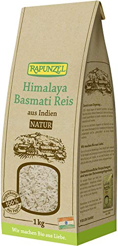 Rapunzel Bio Himalaya Basmati Reis natur (6 x 1 kg)