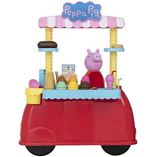 HTI Peppa Pig Ice Cream Car Playset | Great Roleplay Set For Kids Boys & Girls