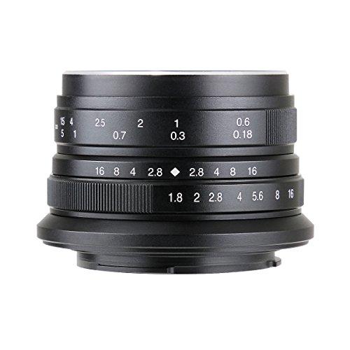 【国内正規品】七工匠 7artisans 25FXB 25mm F1.8 フジフイルムX ブラック