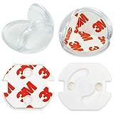 Baby Babys Kinder Kantenschutz Set Kindersicherung Tisch Möbel,Eckenschutz (16 Corner+ 10 Steckdosenschutz)