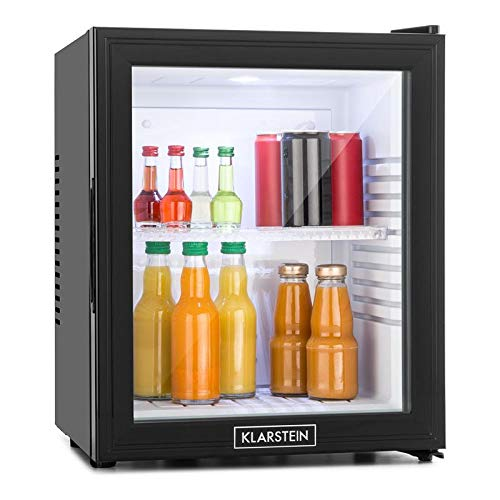 Klarstein MKS-13 - Minibar,32 litres,Silencieux OdB,Température réglable,Porte verre, Classe...