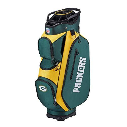 Wilson NFL Golf Bag - Cart, Green Bay, 2020 Model