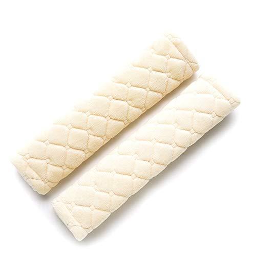 Jhtadva Almohadillas Acolchadas a Cuadros Lindas para el cinturón de Seguridad del Coche, Almohadillas para Dormir para niños, Almohadillas para el cinturón de Seguridad para niñossuministrospara
