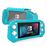 Kmasic Taric Pro Series Case Designed for Nintendo Switch Lite 2019 Release, Full-Body Rugged Protective Case, Turquoise