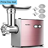 Electric Meat Grinder, ALTRA Stainless Steel Sausage Stuffer Maker &...