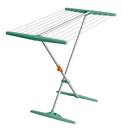 Juwel Superdry Basic 40804 Séchoir Cordes à Linge 11 m Vert Menthe