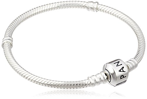 Pandora Women's 925 Sterling Silver Bracelet, 17 cm