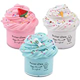 Slime Kit with 3 Pack Butter Slime,Pink...