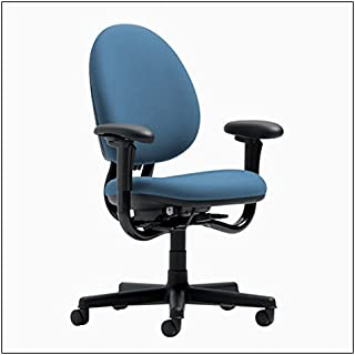 Steelcase Criterion High-Back Work Chair by Steelcase, color = Sky