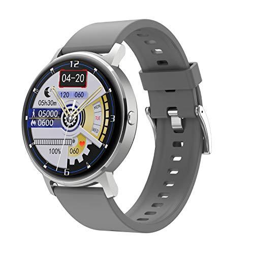 ZYY LG16 Bluetooth Call Music SmartWatch Music Play Detección de Ritmo cardíaco IP67 Reloj Impermeable para Android iOS Reloj Deportivo,C