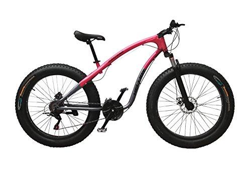 Helliot Bikes Arizona Fat Bike Bicicleta de Montaña, Adultos Unisex, Amarillo/Negro, M-L