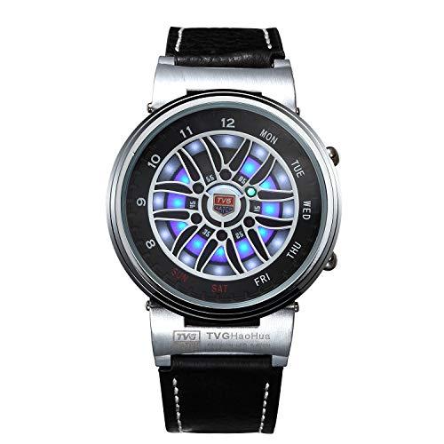 ENKOO TVG - Reloj de pulsera electrónico para hombre