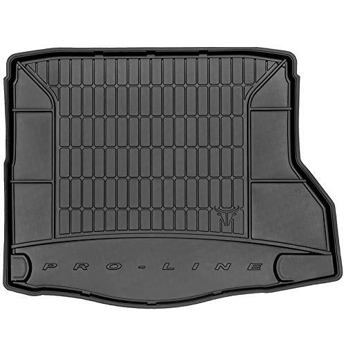 DBS Tapis de Coffre Auto - sur Mesure - Bac de Coffre pour Voiture - Rebords Surélevés - Caoutchouc Haute qualité - Antidérapant - Simple d'entretien - 1766563