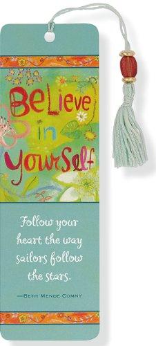 Believe In Yourself Beaded Bookmark