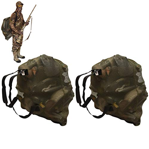 DecoyPro Mesh Decoy Bags – 2 Decoy Bag Bundle – Duck Decoy Bag – Goose Decoy Bag - Turkey Decoy Bag