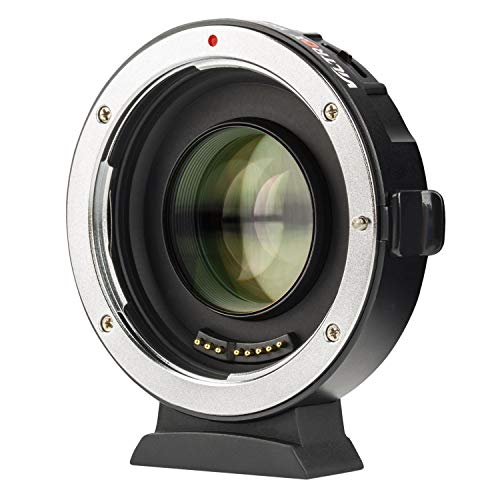 MFT Lens Adapter EF-M2II Auto-Focus Speed-Booster Control Ring for Canon EF Lens to M4/3 Camera GH4 GH5 GF8 GF9 GX8 GX85 E-M5 E-M10 E-M10II E-PL5 Pen-F