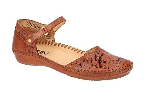 Pikolinos 655-0545 Puerto Vallarta Schuhe Damen Sandalen Ballerinas, Schuhgröße:42 EU, Farbe:Braun
