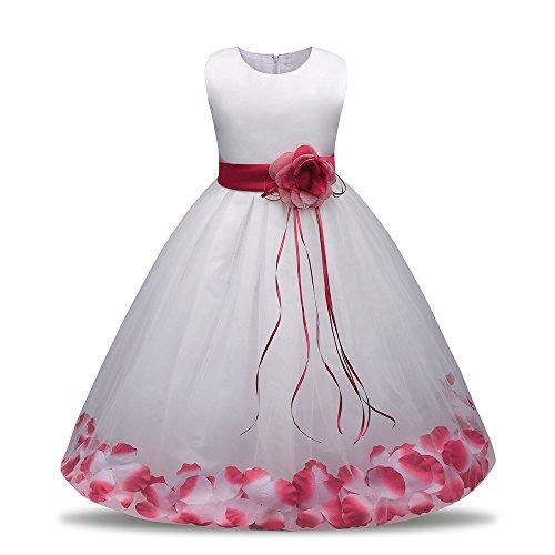 Hawkimin_Babybekleidung Hawkimin Kleinkind Baby Mädchen Bling Pailletten ärmellose Tutu Prinzessin Kleid Outfits Kleidung