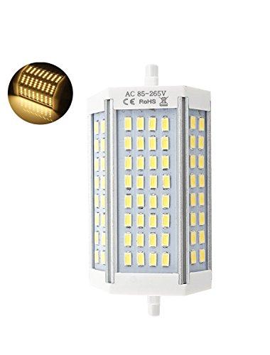 R7s LED 118mm 30w Led Regulable. Color Blanco Frío (6500K). 3000 Lumenes. Sin ventilador. A++