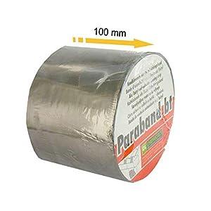 Banda impermeabilizante, autoadhesivo DL Chemicals aluminio butil 100 mm x 10 m
