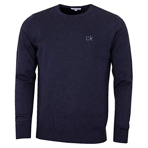calvin klein burgundy wool sweater