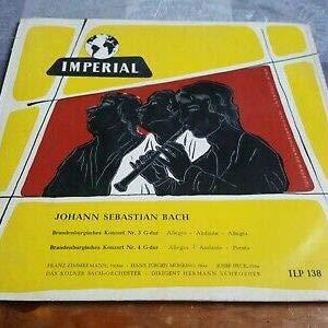 Johann Sebastian Bach - Das Kölner Bach Orchester - Brandenburgisches Konzert 3 Und 4 - Imperial - ILP 138