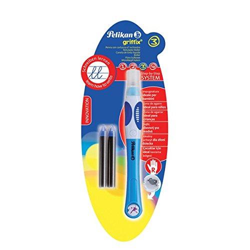 Pelikan 960955 Tintenschreiber griffix Rechtshänder, blau
