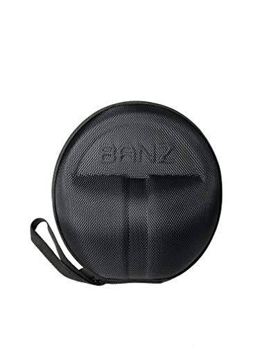 Baby Banz Earmuffs CASE - Protective Premium Hard EVA Case - Holds BANZ Baby Size Earmuffs and Bluetooth Baby Headphones – Protect Children Hearing Earmuffs – Travel Case (Black)