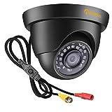 Anlapus 1080P Caméra de Surveillance Extérieure IP66 20M Vision Nocturne, Objectif de 3.6mm, 4-en-1 Caméra pour Kit Vidéo Surveillance de Mode TVI/CVI/AHD/960H
