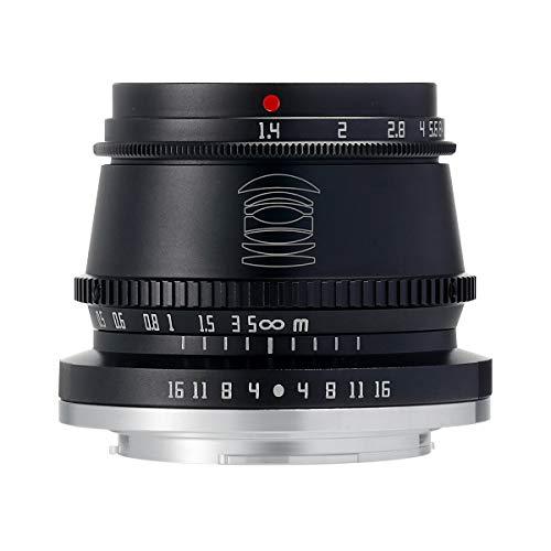 【国内正規品】銘匠光学 TTArtisan 35mm f/1.4 C (富士フイルムX, ブラック) 「2年保証付」