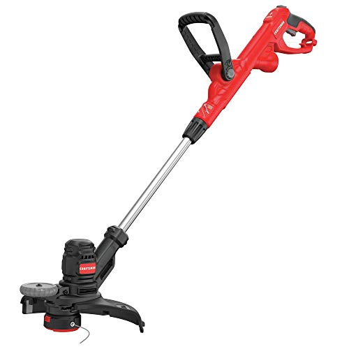 Best Bargain CRAFTSMAN String Trimmer, 14-Inch, 6.5-Amp, Push Button Feed System (CMESTE920)