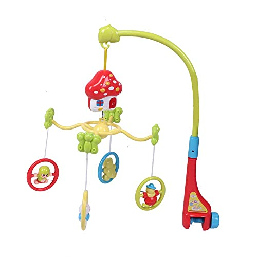 Campana de cama de bebé de protección ambiental no tóxica, juguete para colgar en la cama, para cochecito de bebé en casa, cama infantil, cuna(323-1)