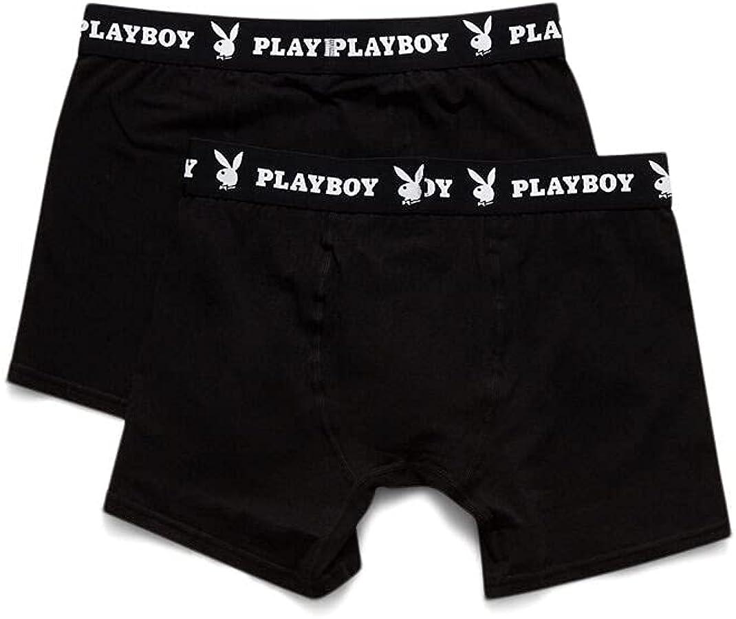 PacSun Playboy Men's 2-Pack Boxer Briefs