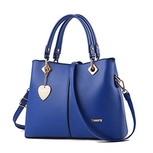 BebiBolso de mensajero de un solo hombro de gran capacidad del bolso de las señoras de la moda-azul real