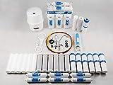 Umkehrosmoseanlage inkl. 3 Jahre Ersatzfilterset - 6 Stufen Filter - NSF Zertfiziert inkl. BIOaktivkohlfilter - leicht einbaubar und ökologisch bestes Trinkwasser für die ganze Familie