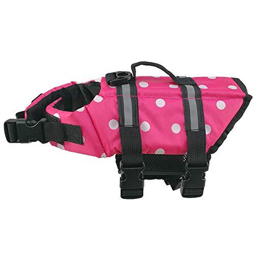 Chaleco salvavidas para perros Chaleco salvavidas superior Chaleco salvavidas para perros Chaleco salvavidas autoinflable para mascota rosa
