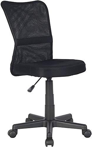 Muy ajuste, silla giratoria, adecuado para niños, comodidad anual afiliada de la silla rotativa, black