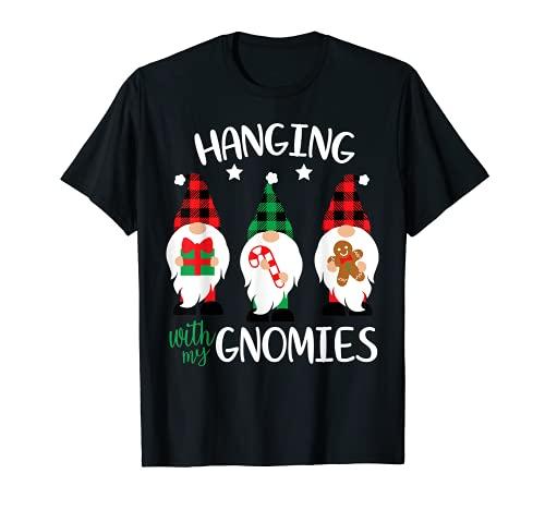 Colgante con mis Gnomies Nordic Santa Gnome - Pijama navideño Camiseta