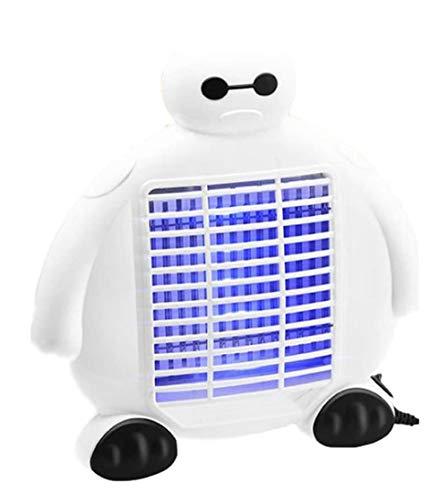 Elektrische Muggenmoordenaar, Fotokatalysator Muggenspray, LED-Stille Draagbare Muggenlamp, USB-Voeding, Dubbelzijdig Muggenlicht