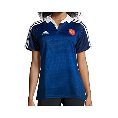 adidas F.F.R. Frankreich Rugby Trikot [ GR. M ] Damen FFR BLAU