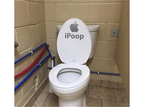 wandaufkleber kinderzimmer baum Ich kacke lustiges Badezimmer-Toilettensitz
