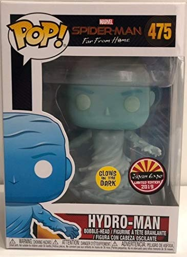 Funko-Europe Pop ! Spiderman Far from Home Hydro-Man Glows in The Dark Special Japan Expo 2019...