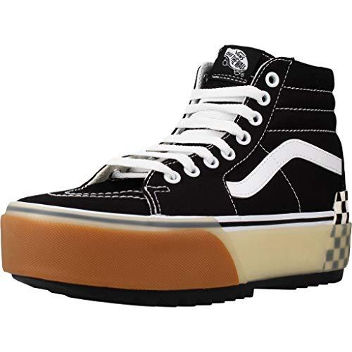 VANS SK8-HI Stacked Platform Zapatos Deportivos para MUIER Negro VN0A4BTW95Y1