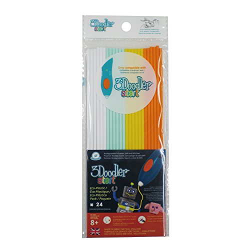 3 Doodler 62123 - Start Plastic Packs, Mehrfarbig