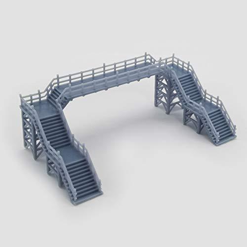 Outland Models Railway Scenery Overhead Footbridge (Without Canopy) 1:160 Gauge N…