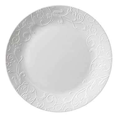 Corelle Embossed Bella Faenza 10.25  Dinner Plate (Set of 8)