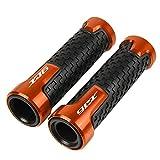BHLTG Puño de Motocicleta Manillar para Ya&maha para XJ6 XJ6N XJ600S XJ900S Universal 7/8' 22mm Anti-Slip Manillar de Motocicleta Puños XJ 6 N 600/900 S Puños de Moto (Color : Orange)