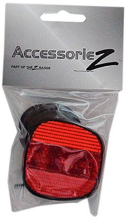 Disclosure Accessoriez Rear Reflector/seatpost/Red Negro/Rojo